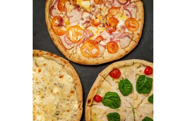 3 pizzas livrées chez vous pour 30€